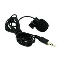 10Pcs/Lot 3.5mm Mini Speech Mic Microphone Clip for PC Desktop Notebook Free Shipping