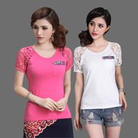 Free shipping charge waist fashion  long t-shirts    t shirt 2013 women  T2