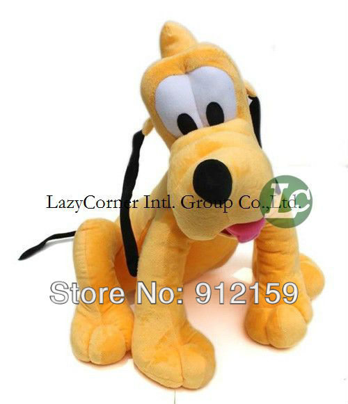 40cm 15.8'' Hotsale plush toys Pluto Goofy doll soft toys many size to choose factory supply freeshipping(China (Mainland))