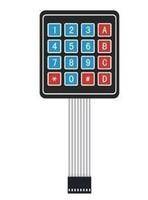 4x4 Universial 16 Key Switch Keypad Keyboard For Arduino uno r3 ,mega 2560,due kits