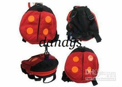 14 pieces/lot-Kids Bags Ladybug Bat Baby Walk/Baby HarnessToddler Harness Walk Learning Assistant Wa(China (Mainland))
