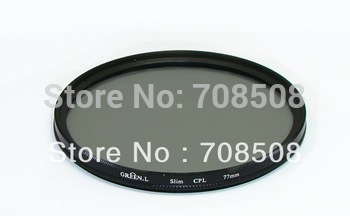 [Free shipping + tracking number] GREEN.L 58mm CPL Circular Polarizing Filter for canon/nikon/sony