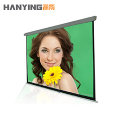 Projector screen manual auto lock curtain projection screen waterproof projectionmeter wrinkle-free and translucidus manual(China (Mainland))