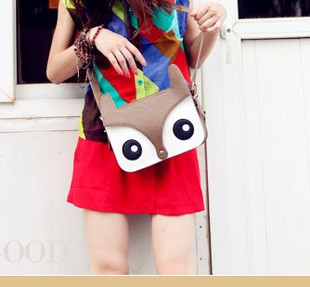 free shipping Duomaomao replica version of the small fox bag work bag one shoulder women's handbag m01-105