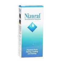 Nizoral Antidandruff Ketoconazole1%Solution(Flaking,Itching 50ml)