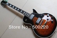 New Custom 1960 electric guitar ebony with fretside binding browm burst 130415