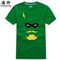 100% T-shirt short-sleeve cotton shirt plus size plus size male Women sitcoms personalized green arrow t-shirt
