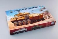 Trumpeter  00349 1/35 USMC LAV-25  plastic model kit