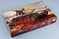 Trumpeter  00360 1/35 Russian KV-1 model 1942 Lightweight Cast plastic model kit