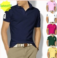 2014 Latest Hot selling  Men's  Fashion  shirts in Sports design Mixed Order