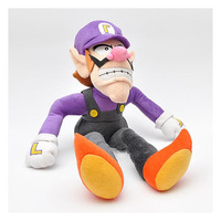 "Super Mario Bros Brothers Waluigi 11"" inch 27cm high quality Plush Doll"