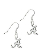 Free shipping 15pair a lot  antique silver plated Alabama Charm drop Earrings  jewelry