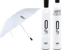 New design + gife packing+hot selling Polyester cloth cartoon white apple umbrella, folding&rain&sun&protable Blue umbrella