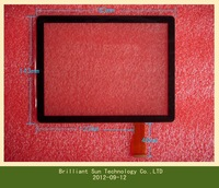 "Free shipping  8""inch LCD touch panel digitizer glass lens for oysters T8 capacitive Touch screen  MT70801-V4 MT70801-V5"