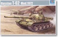 Trumpeter  00377 1/35 Russian T-62 Mod 1972  plastic model kit