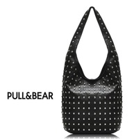 Free shipping!PULL&BEAR 2013 Hot New Women Fashion Rivet Motorcycle designer Handbags PU Leather Model