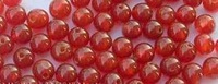 FREEN SHIPPING! Diy beads 5mm red agate beads bracelet necklace