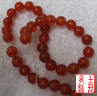 FREEN SHIPPING! Diy beads 8mm natural red agate loose beads