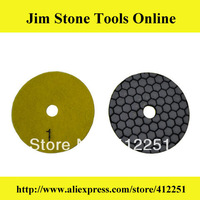 "3"" Diamond Dry Polishing Pads For Granite"