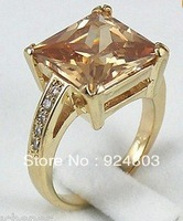 Noble - a beautiful , glittering and translucent crystal ring : 6 # 7 # 8 # 9 #
