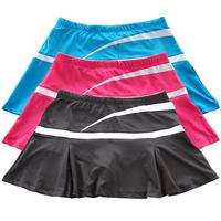 plus size 100% cotton tennis ball dress short skirt badminton skirt tennis ball culottes sports  pants skirt female sportswear