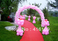 Wedding supplies balloon 100 pcs /bag wedding decoration pearlizing thickening arch balloon