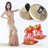 free shipping discount Belly dance finger cymbal copper  dip costumes belly dance props