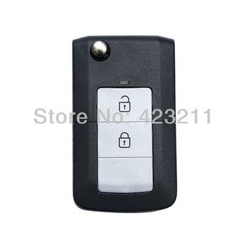 Ultrathin Folding Remote Key Shell Case For HYUNDAI ELANTRA 2 Buttons  FT0007
