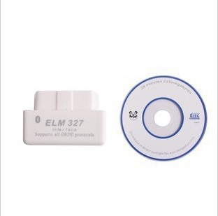 100pcs free shipping for 2013 super mini elm327 bluetooth ELM 327 Interface OBD2 / OBD II Auto Car Diagnostic Scanner OBDII(China (Mainland))
