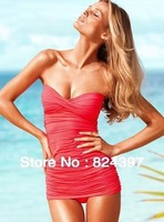Korea's new sexy swimwear one piece skirt swimsuit show thin hot springs bathing suit Bikini Set Free Shipping