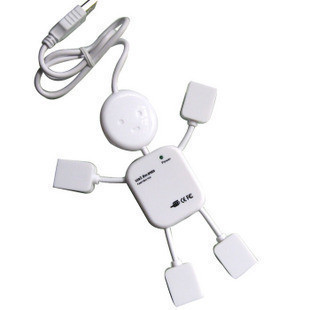 5 pcs/lot People Usb hub computer usb interface usb 2.0 splitter hub with four USB free shipping