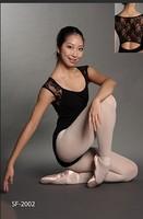 Lace short-sleeve adult ballet young girl ballet dance clothes ballet leotard gym suit adult