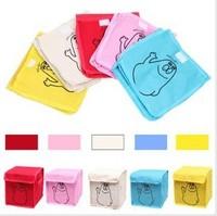 New Arrival Wholesale 20pcs/lot  Barbapapa Folding Collecting Box/Home Storage Box, Multi-color  Sundries Storage Bag/Box