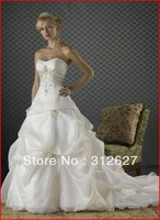 Free shipping wholesale  best-selling High quality  wedding dress A014