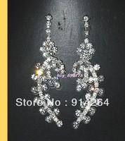 Wholesale12PairsProm/Bridal Crystal Rhinestone Earrings   free shipping