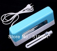 Blue 9W 220V-240V Nail Art Gel Curing UV Lamp Light Nail Dryer Free Shipping Dropshipping