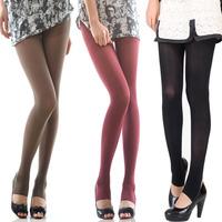 Langsha multicolour candy color silk socks female 80d fashion velvet tights step spring basic