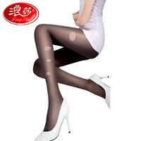 Langsha wire socks female ultra-thin velvet silk at random quality socks pantyhose