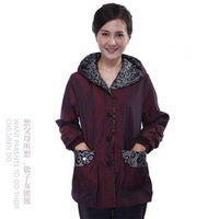 Free Shipping Chickasaw quinquagenarian women's 2013 spring mother clothing plus size thin the elderly outerwear