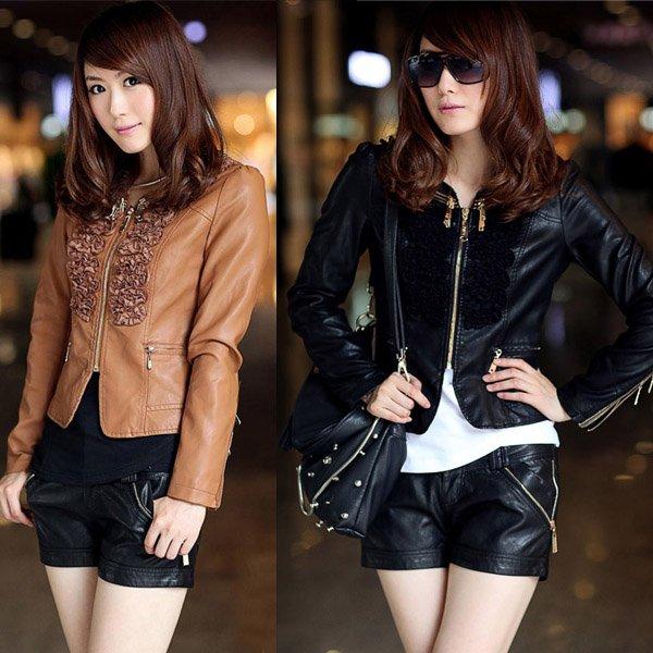 Short Leather Jackets For Girls - JacketIn
