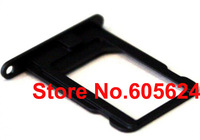 10pcs/lot Genuine Original New For iphone 5 Nano Sim Card Tray Slot Holder Replacement Parts Black Wholesale