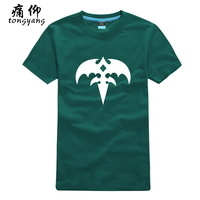 Print short-sleeve t-shirt plus size men's clothing queensryche band - 2