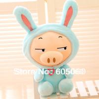 Free shipping Shapeshift rabbit dora plush toy doll birthday gift 3pcs/lot baby girl toys