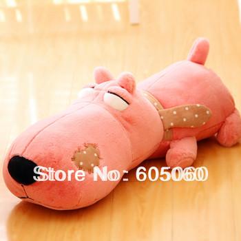 Free shipping  big head dog plush toy dog doll Large toys gift baby toys