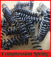 Compression Spring Small Black Spring Model Car Shock Absorber Parts