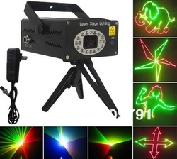 RG 280mW Anime mini laser light,Disco Bar KTV DJ Bar Party Club Gig Christmas stage laser light anime patterns Free Shipping(China (Mainland))