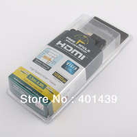 Free HK post 1.5m 4.9ft 1080p High Speed HDMI cable 180degree Swivel HDMI cable free angle HDMI cable 10pcs/lot