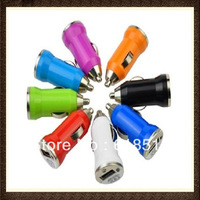 5V 1A Universal USB Car Charger Adapter For Apple iPhone 3Gs 4 4S iPod,2000pcs/lot Fedex Dhl EMS