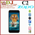 New arrival free shipping ZOPO C2 aliyun os MTK6589 quad core 5 inch IPS 1920*1080px 1GB RAM 13.1MP camera