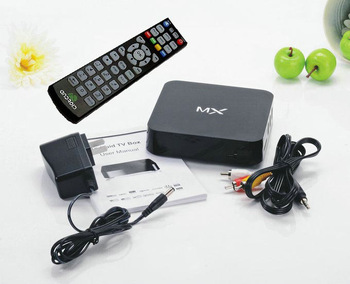 AMLogic 8726 MX TV BOX Dual core Cortex A9 Android 4.2 WiFi + RJ45 ethernet